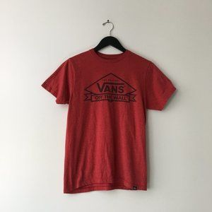 Vans Graphic Tee Skate S Shirt Red